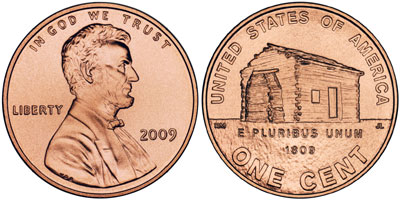 2009 Bicentennial Lincoln Cent
