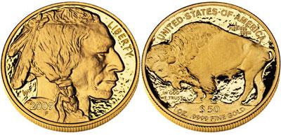 Proof Gold Buffalo