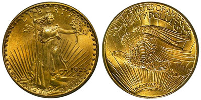 Saint Gaudens Double Eagle