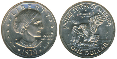 Susan B  Anthony Dollars Mintage